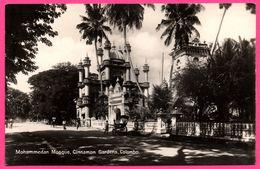 Colombo - Mohammedan Mosque - Cinnamon Gardens - Pousse Pousse - Animée - PLATE Ltd N° 45 - Sri Lanka (Ceylon)