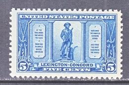 U.S.  619    **    MINUTE  MAN   1925  Issue - United States