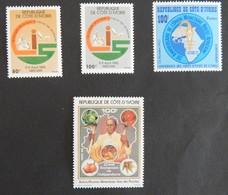 COTE D IVOIRE ANNEE 1982 NEUFS - Côte D'Ivoire (1960-...)