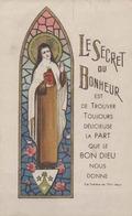 IMAGE RELIGIEUSE - SOUVENIR DE PREMIERE COMMUNION SOLENNELLE - FAITE EN L'ÉGLISE DE CHALANDRAY - Images Religieuses