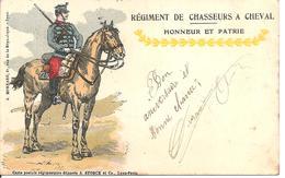 Régiment De Chasseurs A Cheval Honneur Et Patrie - Reggimenti