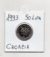 Croazia - 1993 - 50 Lipa - Vedi Foto - (MW1412) - Croazia