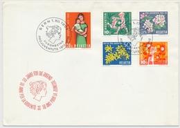 193-197 / 758-762 - 1962 Illustriertes Pro Juventute FDC - Lettres & Documents