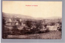 CROATIA Pozdrav Iz Fužine 1908 OLD POSTCARD 2 Scans - Kroatië