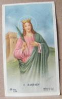 MONDOSORPRESA, (ST343) SANTINO, SANTINI, SANTA BARBARA - Images Religieuses