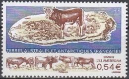 TAAF 2007 Yvert 461 Neuf ** Cote (2015) 2.00 Euro Bovin De Lîle Amsterdam - Terres Australes Et Antarctiques Françaises (TAAF)