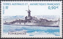 TAAF 2007 Yvert 462 Neuf ** Cote (2015) 3.60 Euro Frégate Tonkinois - Terres Australes Et Antarctiques Françaises (TAAF)