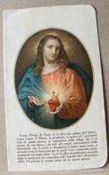 MONDOSORPRESA, (ST345) SANTINO, SANTINI, TESSERA ISCRIZIONE PER L' APOSTOLATO DELLA PREGHIERA - Images Religieuses