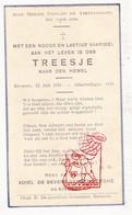 DP Kind - Treesje De Bevere ° Beveren Roeselare 1931 † 1935 / Adiel X Margriet Vd Berghe (° Ardooie) / G. Gezelle - Images Religieuses