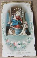 MONDOSORPRESA, (ST349) SANTINO, SANTINI, S.S. VERGINE DEL ROSARIO, 1898 - Images Religieuses