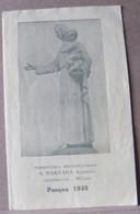 MONDOSORPRESA, (ST352) SANTINO, SANTINI, PASQUA 1949 - Images Religieuses