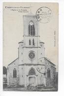 01  -  CPA  De  CHAMPAGNE  En  VALROMAY  -  L ' Eglise  Et  La  Fontaine  Brillat - Savarin - France