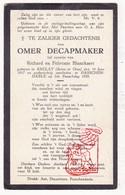 DP Kind Im. Pieuse Enfant - Omer DeCapmaker / Blanckaert 11j. ° Saclay Essonne FR 1917 † Passendale Zonnebeke BE 1929 - Images Religieuses