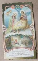 MONDOSORPRESA, (ST356) SANTINO, SANTINI, GLORIA ECCELSA A DIO, NATIVITA', PRIMI 900 - Images Religieuses