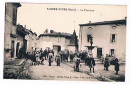 D  30  -  AIGUES  VIVES  -  LA  FONTAINE   - 5976 - Aigues-Vives
