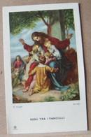 MONDOSORPRESA, (ST360) SANTINO, SANTINI, GESU' TRA I FANCIULLI - Images Religieuses