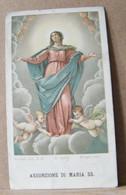 MONDOSORPRESA, (ST361) SANTINO, SANTINI, ASSUNZIONE DI MARIA SANTISSIMA - Images Religieuses