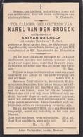 Heist-op-den- Berg, Heyst Op Den Berg, Beersel, 1935, Karel Van Den Broeck,Coeck - Images Religieuses
