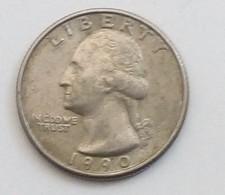 QUARTER DOLLAR,LIBERTY,1990 - Federal Issues