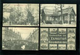 Beau Lot De 20 Cartes Postales De France Nord  Roubaix Exposition      Mooi Lot Van 20 Postkaarten Van Frankrijk ( 59 ) - Cartes Postales