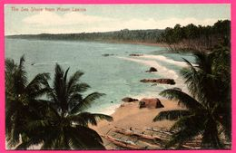 The Sea Shore From Mount Lavinia - PLATE Ltd N° 68 - Colorisée - Sri Lanka (Ceylon)