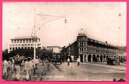 Cp Photo - Colombo - Main Street Fort - Vieille Voiture - Animée - PLATE Ltd N° 61 - Sri Lanka (Ceylon)