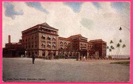 Colombo - Galle Face Hotel - Animée - PLATE Ltd N° 74 - Colorisée - Sri Lanka (Ceylon)