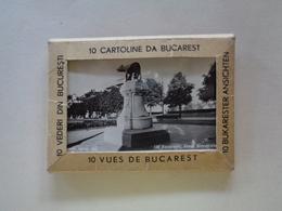 10 Bukarester Stadtansichten 1944 - 9/5.5 Cm. - Romania