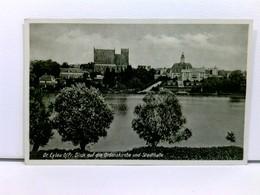 AK Deutsch-Eylau, Blick Auf Die Ordenskirche Und Stadthalle; Westpreussen, Ilowa; Ungelaufen, Datiert 1941 - Ansichtskarten