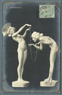 CPA - JEUNES FEMMES - FARFADETS - Sculture
