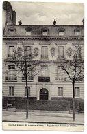 CPA  75 PARIS     INSTITUT MERICI  8 AVENUE D IENA       FACADE - France