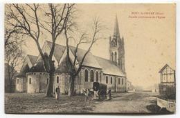 Pont-St-Pierre (27) - Façade Postérieure De L'Eglise - CPA - France