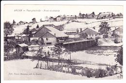 ARCON, Arçon, 25: Vue Générale Pont Et Scierie + Cachets Demi- Brigade De Chasseurs Mitrailleurs - France