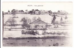 ARCON, Arçon, 25: Vue Générale Edit Simon Dormier Café Du Centre - France