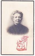 DP Foto - Maria S. Wuyts ° Berchem 1864 † Antwerpen 1926 X F. Pauwels / Begr. Merksem - Images Religieuses