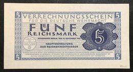 GERMANIA ALEMANIA GERMANY 5 REICHSMARK 1944 Fds LOTTO 2003 - [ 4] 1933-1945 : Terzo  Reich