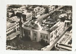 Cp , TUNISIE ,vue Aérienne ,hôtel De Ville, Voyagée 1957, Ed. Combier - Tunisie