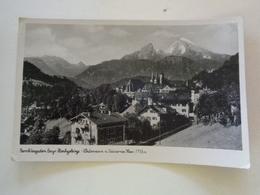 Berchtesgaden,Bayr. Hochgebirge - Walzmann Und Steinernes Meer - 1944 - Berchtesgaden