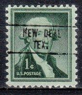 USA Precancel Vorausentwertung Preo, Locals Texas, New Deal 748 - Vereinigte Staaten