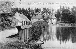 CPA   61   RANDONNAL----CHATEAU ET ETANG DE GAILLON---1905 - France