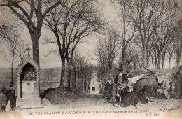 CPA   31  SAINT-GAUDENS---MONTJOIE ET CHAPELLE DE LA CAOUEE---1954 - Saint Gaudens