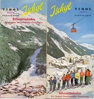 Brochure Dépliant Faltblatt Toerisme Tourisme - Ischgl Tirol Paznautal - Austria Österreich - Ca 1960 - Ski - Dépliants Touristiques