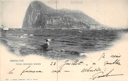¤¤  -   GIBRALTAR   -  From Spanish Shore       -  ¤¤ - Gibraltar