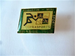 PINS AUGUSTIN  COPRASPORTS GRASSE 1992 06 ALPES MARITIMES  SPORTS   / 33NAT - Athletics