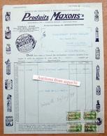Produits Maxons's, Avenue Jean Dubrucq, Bruxelles-Maritime 1938 - Belgium
