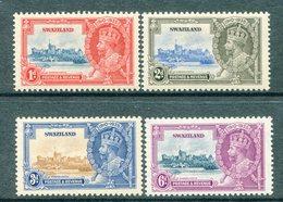 Swaziland 1935 KGV Silver Jubilee Set HM (SG 21-24) - Swaziland (...-1967)