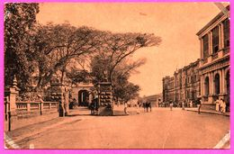 Colombo - Queen Street - Showing Queen's House - Pousse Pousse - Animée - PLATE Ltd N° 87 - Sri Lanka (Ceylon)