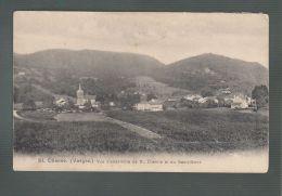 CPA (88) Saint-Etienne  -  Vue D'ensemble - Au Dos : 3 Vues De La Ville - Saint Etienne De Remiremont