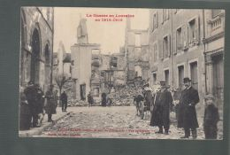 CPA (88) Raon-l'Etape Bombardé Par Les Allemands - Vue Intérieure - Guerre En Lorraine En 1914-15 - Raon L'Etape