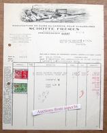 Manuf De Cuirs Au Chrôme Pour Chaussures, Schotte Frères, Erembodegem 1938 - Belgium